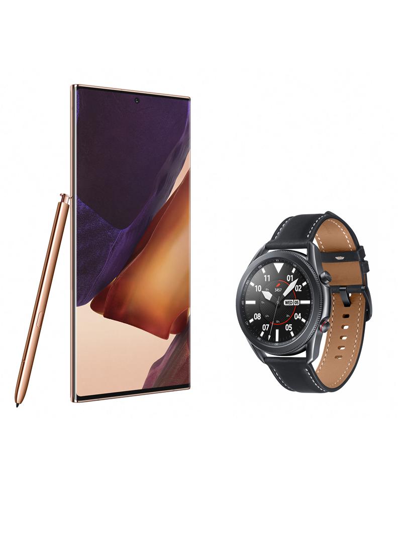 Samsung Galaxy Note 20 Ultra 5G si Samsung Galaxy Watch3 LTE