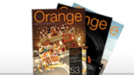 revista Orange shop