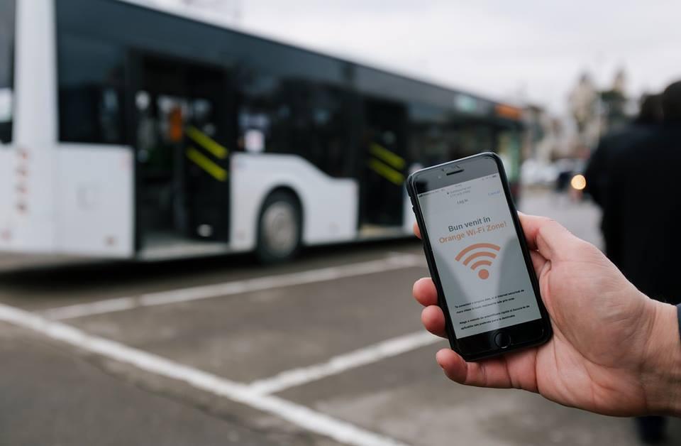Wi-Fi gratuit pentru utilizatorii transportului în comun din municipiul Iași