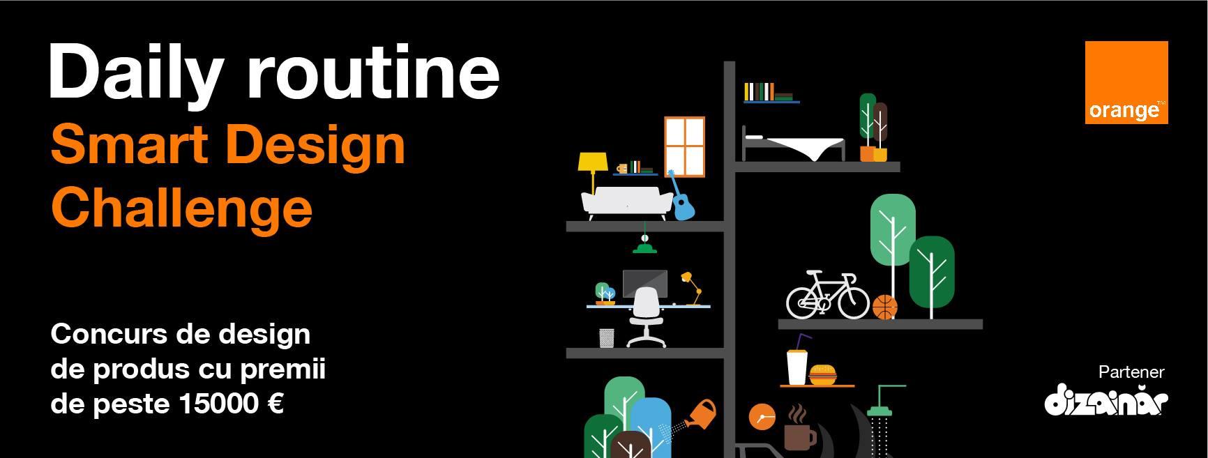 Obiecte inovatoare de design expuse în Orange smart shops