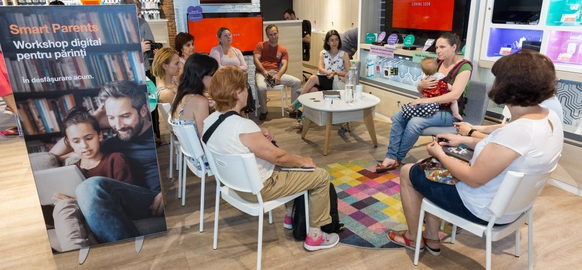 Părinții copiilor digitali sunt invitați să se înscrie la o nouă ediție de ateliere Smart Parents