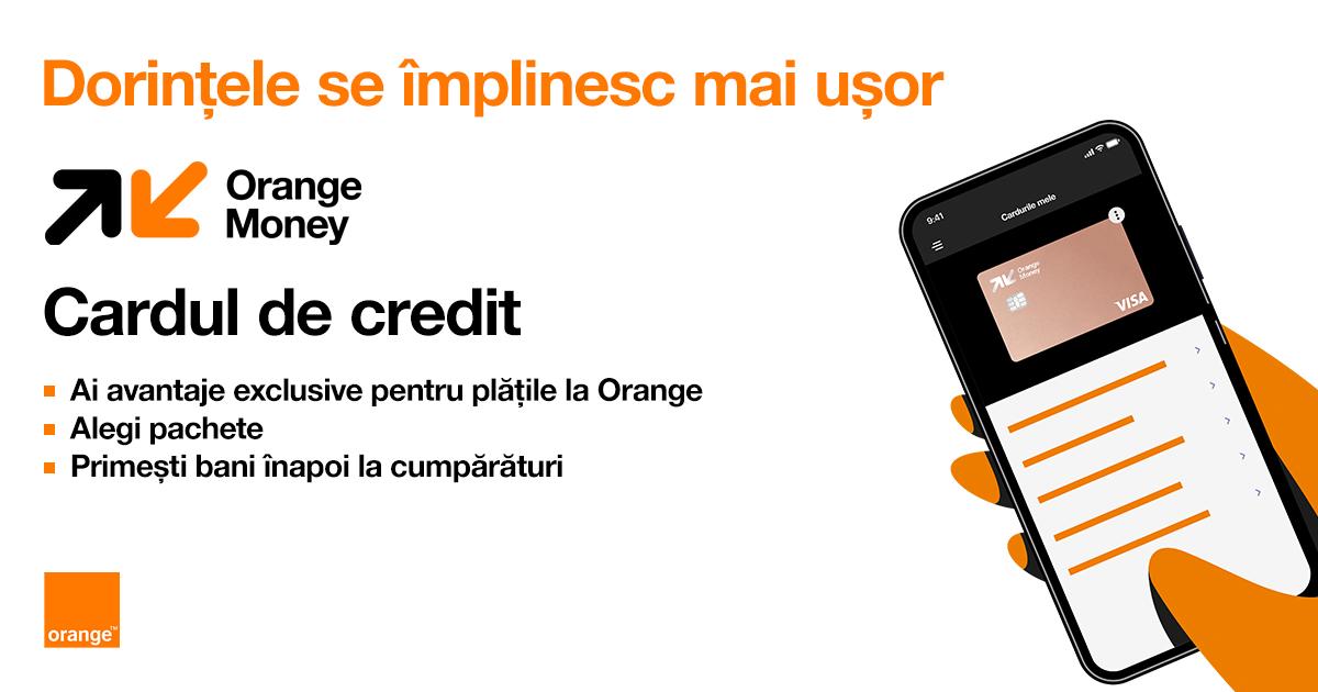 Orange Money lansează cardul de credit  care le permite clienților să-și aleagă beneficiile