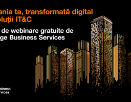 Webinare gratuite dedicate tehnologiei oferite de Orange Business Services