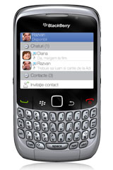 BlackBerry Curve 8520 silver