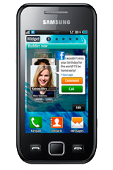 Samsung Wave 575 Black
